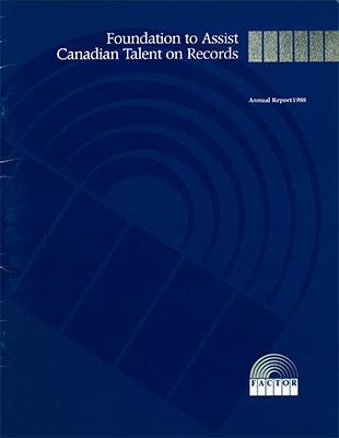 Annual Report 1987 - 1988