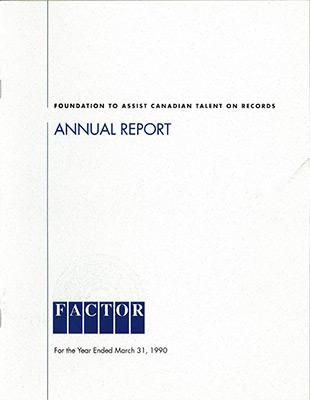 Annual Report 1989 - 1990