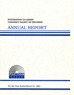 Annual Report 1990 - 1991