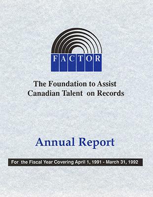 Annual Report 1991 - 1992
