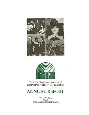 Annual Report 1992 - 1993