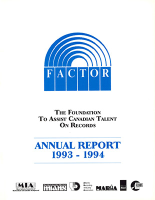 Annual Report 1993 - 1994