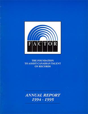 Annual Report 1994 - 1995