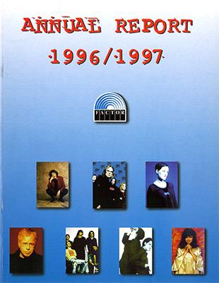 Annual Report 1996 - 1997
