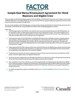 Applicant Resources - FACTOR Canada