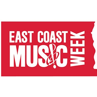 East Coast Music Week 2016 logo